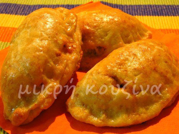 μικρή κουζίνα: Κιμαδοπιτάκια με φύλλο κουρού