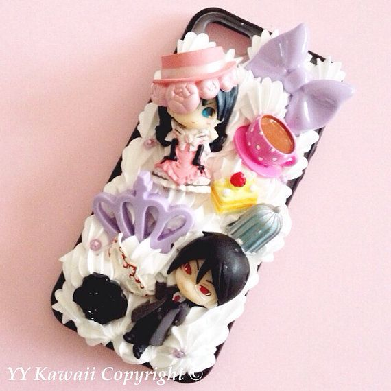 Last few Custom kawaii anime manga Black Butler by YYKawaii