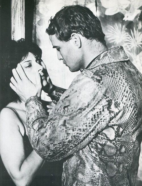 Marlon Brando and Anna Magnani in The Fugitive Kind (1960)