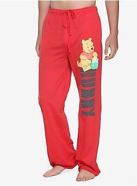 0d9f51bca4 Pooh-tacular    Disney Winnie The Pooh Hunny Guys Pajama Pants