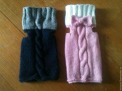 Одежда для собак, ручной работы. Ярмарка Мастеров - ручная работа Жилетики для двух маленьких друзей. Handmade.