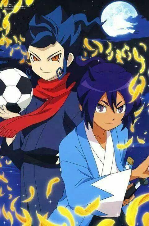 Soji okita y tsurugi kyosuke inazuma eleven go pinterest - Inazuma eleven go victor ...