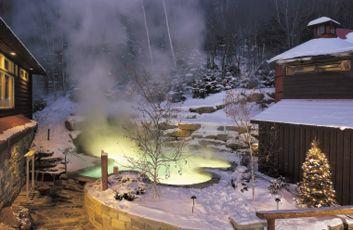 Le Spa scandinave de Mont-Tremblant (Québec)