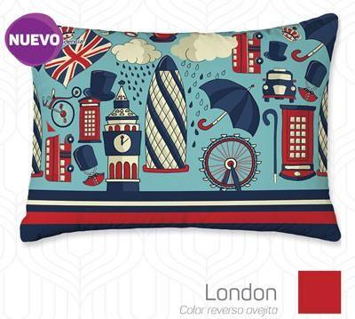 Almohada Decorativa London