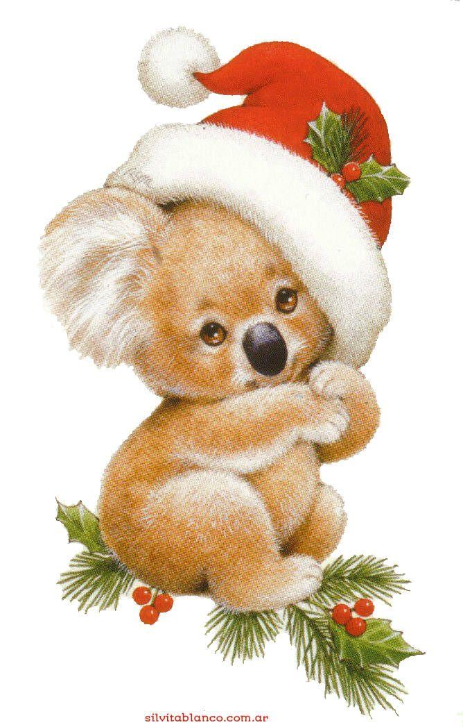 CHRISTMAS KOALA BEAR CLIP ART CHRISTMAS 2 CLIPART