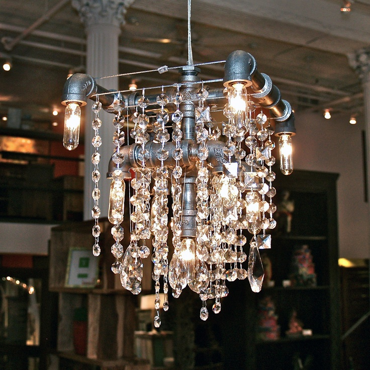 Industrial-glam chandelier: Chand Design, House Ideas, Michael Mchale, Chand Crazy, Grand Chand, Tribeca Grand, Chand Obsession, Mordern Lights, Mchale Design