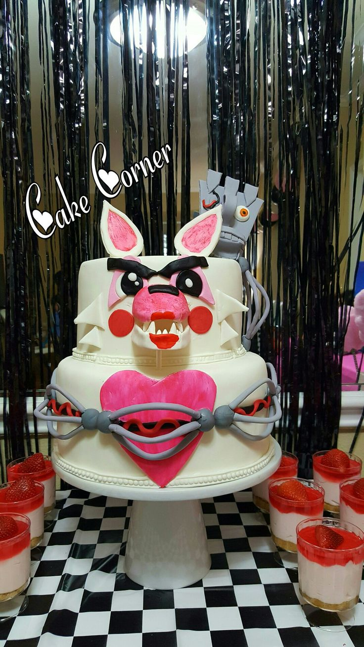 Five Nights At Freddy S Mangle Cake
