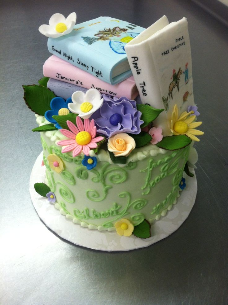 Retirement Party For Librarian Cake In 2019 Pinterest