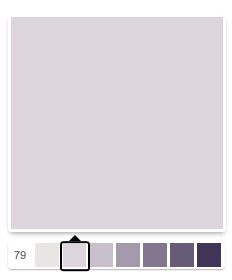 silver peony   color is silver peony from sherwin williams 50 % tint