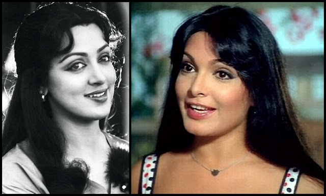 Hema Malini and Parveen Babi with side flicks