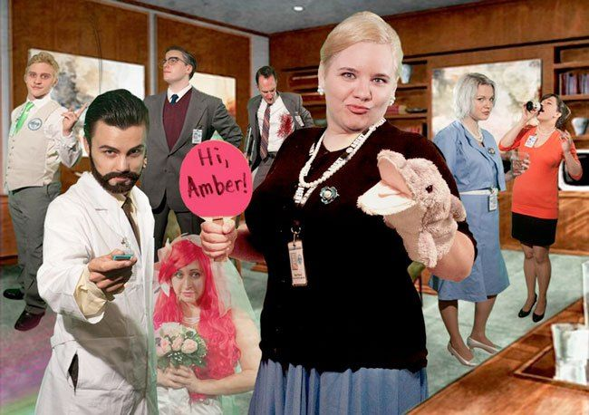 The 10 Best #IAmPamPoovey Entries For Amber Nash's 'Archer' Cosplay Contest