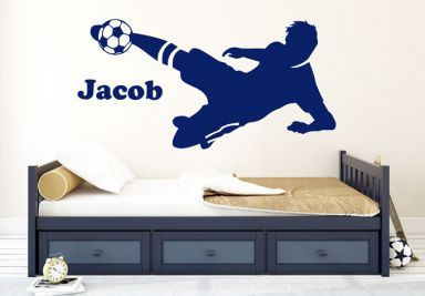 Muurstickers Sport Voetbal Shop - wall-art.nl