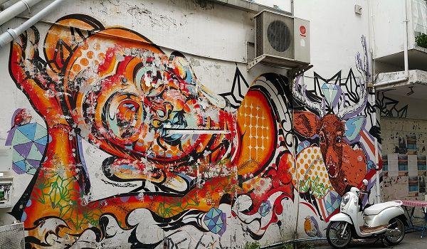 graffiti along the khlong in bangkok - Google Search