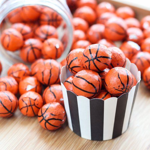 Chocolate Sports Candy Balls for Bar Mitzvah, Adult birthday, Boys birthday (($))
