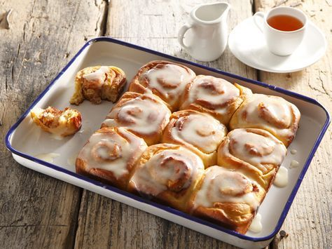 From the YOU test kitchen:  Cinnabons