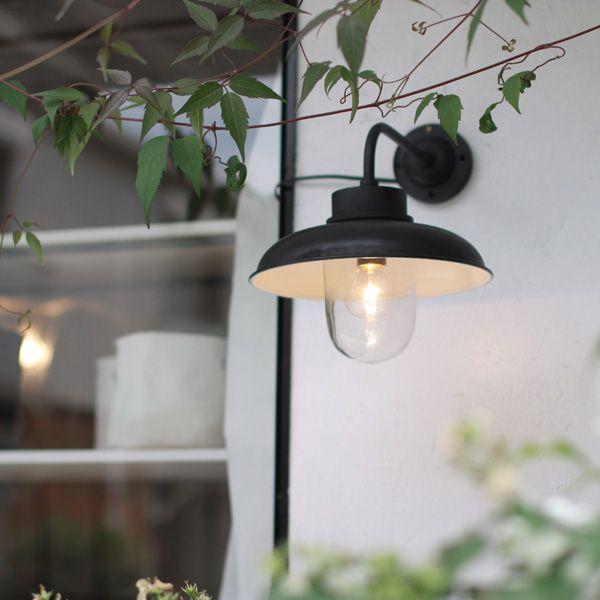 スチールシェード・ウォールランプ/ブラック | | 照明・ランプ | Orne de Feuilles