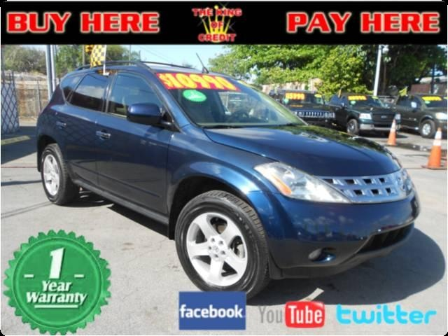 2005 nissan murano used cars for sale in miami 10990. Black Bedroom Furniture Sets. Home Design Ideas