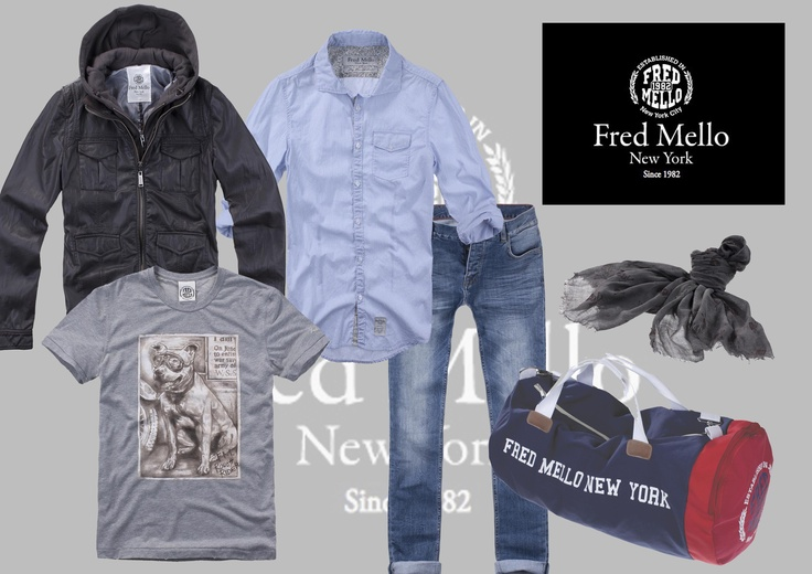 Get the look#upmanhattan #fredmello #fredmello1982 #newyork #accessories#springsummer2013 #accessible luxury #cool #usa #mancollection#logo