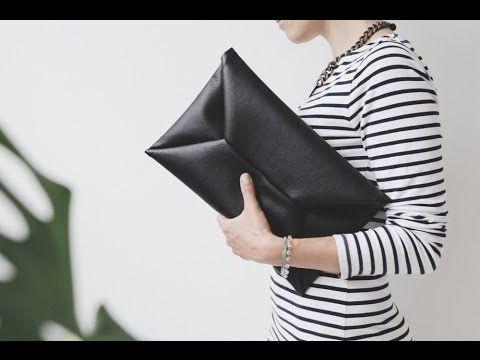 VIDA Leather Statement Clutch - VACANCE by VIDA lLx2fUaP3