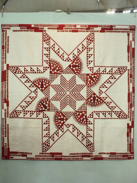 221 best Feathered Star Quilts images on Pinterest   Star quilts ... : feathered star quilts - Adamdwight.com