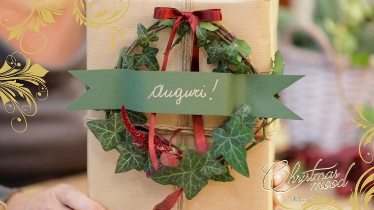 Tutorial -  Idea pacco regalo Christmas Packaging