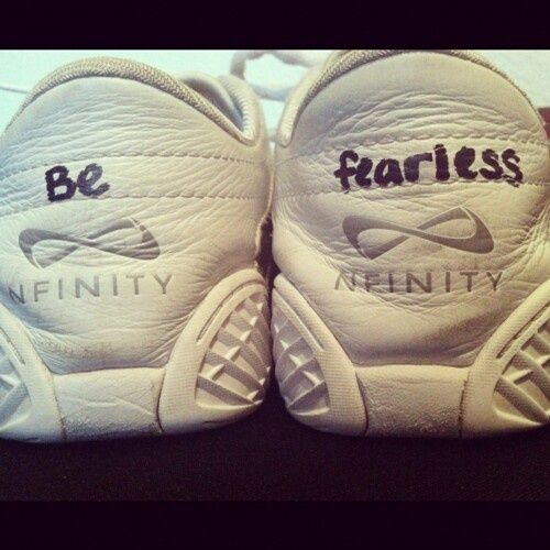 how to clean nfinity cheer shoes
