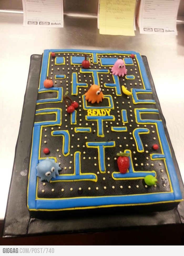 Best  Pac Man Cake Ideas On Pinterest Pac Man Party Pac Man - Cake birthday games