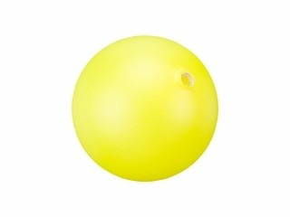 Swarovski Pearl - 6 mm Round (5810) Neon Yellow - Sold Individually