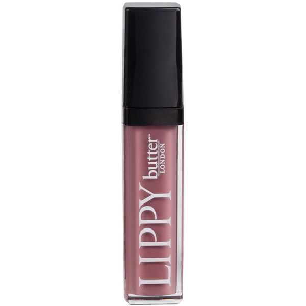 butter London Lippy Liquid Lipstick ($18) ❤ liked on Polyvore featuring beauty products, makeup, lip makeup, lipstick, toff, moisturizing lipstick, butter london, long wear lipstick, paraben free lipstick and long wearing lipstick