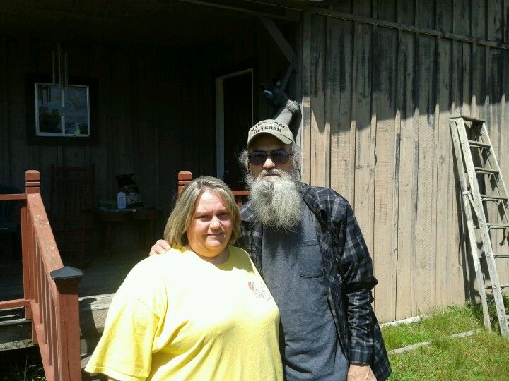 Me with Uncle Si