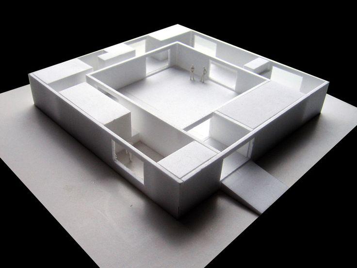 for KENG PRE ICE MINK : Atrium #House THAM & VIDEGÅRD ARKITEKTER #architecture