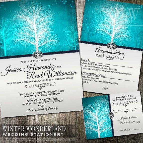 Winter Wonderland Save The Date, Winter Wonderland, PRINTABLE Digital File, Winter  Wedding Save The Date Snowflake Save The Date DIY