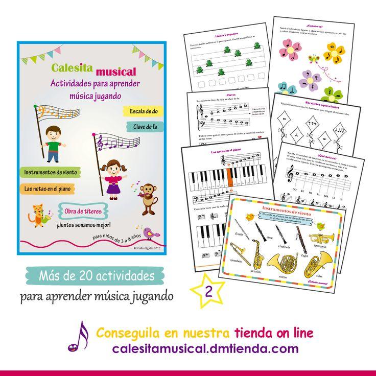 Revista digital con actidades para aprender música jugando.