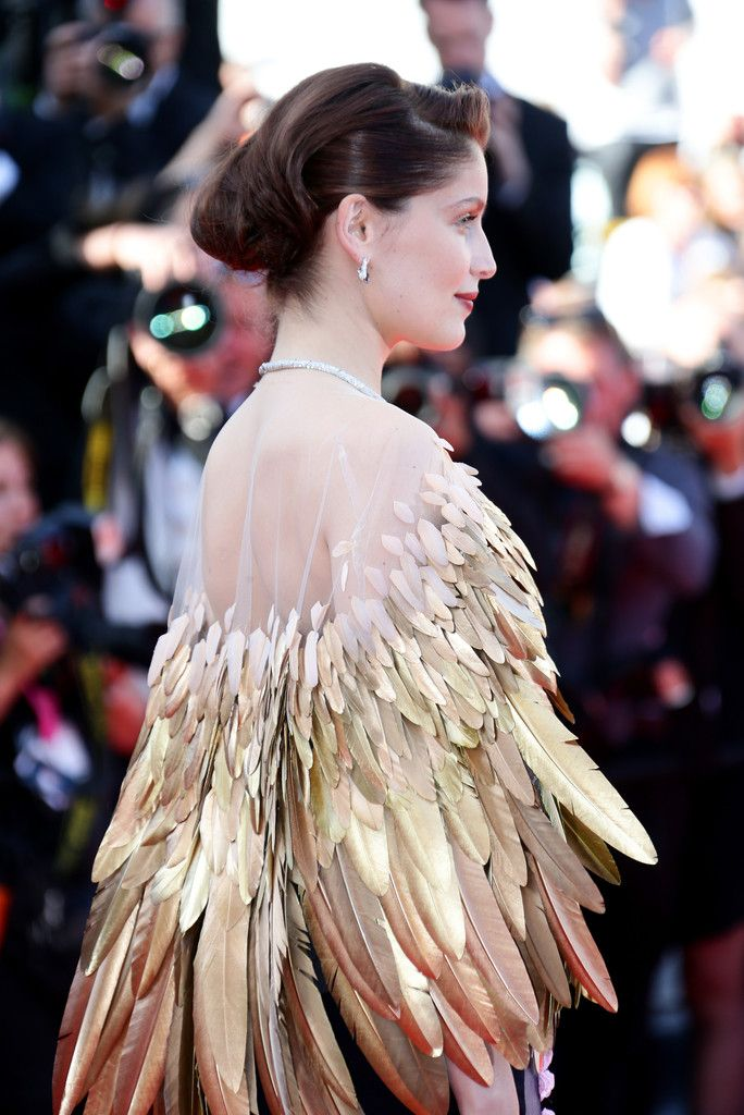 Laetitia Casta - 'Zulu' Premieres in Cannes... This reminds me of howls moving castle..