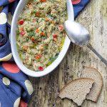 Melanzane affumicate in insalata Un contorno ma anche un antipasto appetitoso e originale. Una ricetta semplice e veloce, leggera e piena di gusto.