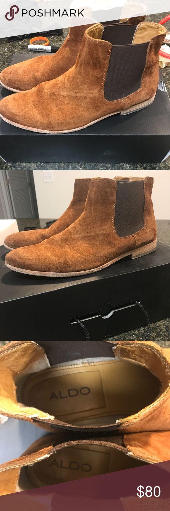 Aldo Jerenalia Chelsea Boots Mens Size 10 Aldo Jerenalia Chelsea Boots Mens Size 10 100% authentic. Good condition Aldo Shoes Boots