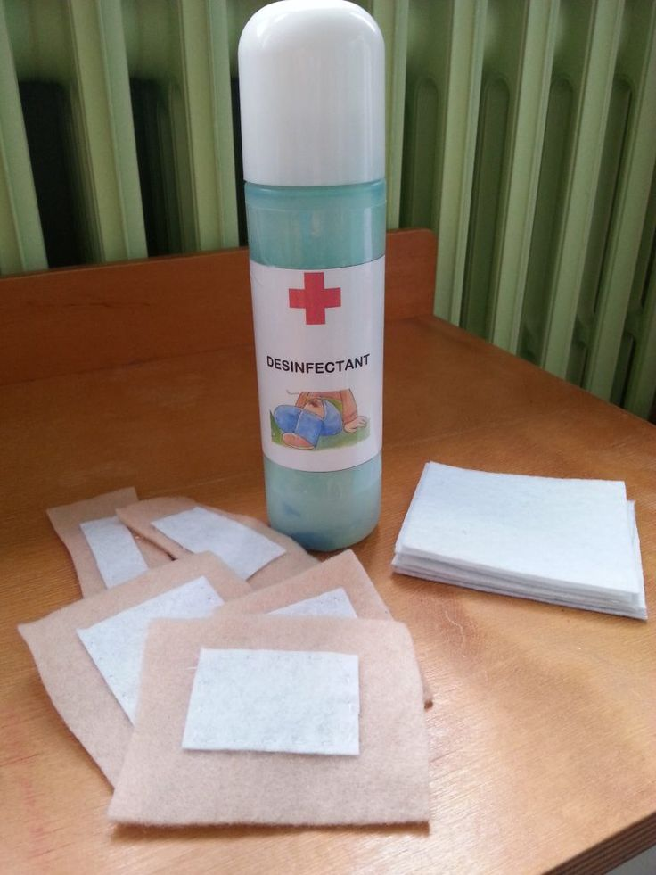 pansements antiseptique docteur maternelle
