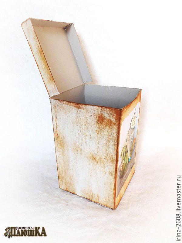 Коробка любого размера с «нуля» своими руками. Быстро, просто, бюджетно - Ярмарка Мастеров - ручная работа, handmade
