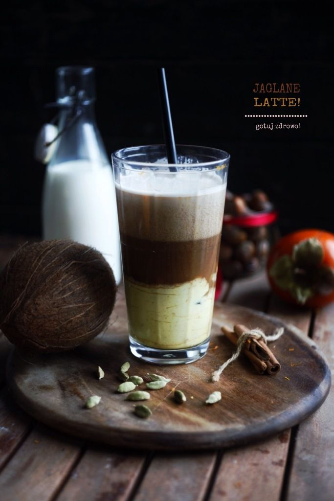 jaglane latte kawa według 5 przemian