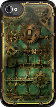 Steampunk: iPhone Cases & Skins for SE, 6S/6, 6S/6 Plus, 5S/5, 5C or 4S/4