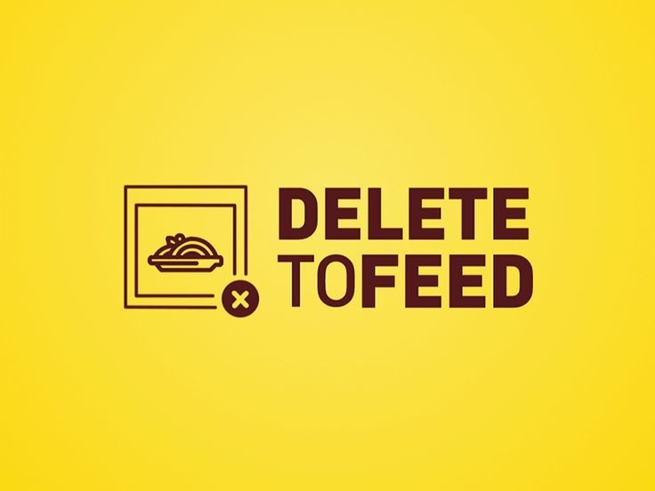 Here's a sweet little logo animation we did for the Delete to Feed campaign. Instagram is full of food posts, but millions of Americans go hungry each year. For each food post you delete, Land O'Lakes will donate 11 meals to Feeding America. The campaign has a target goal of 2.75 million meals, which is equal to about a $250,000 donation. More about the case: http://superherocheesecake.com/work/delete-to-feed