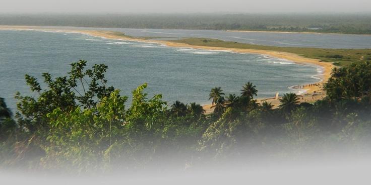 Liberia, where I'm from