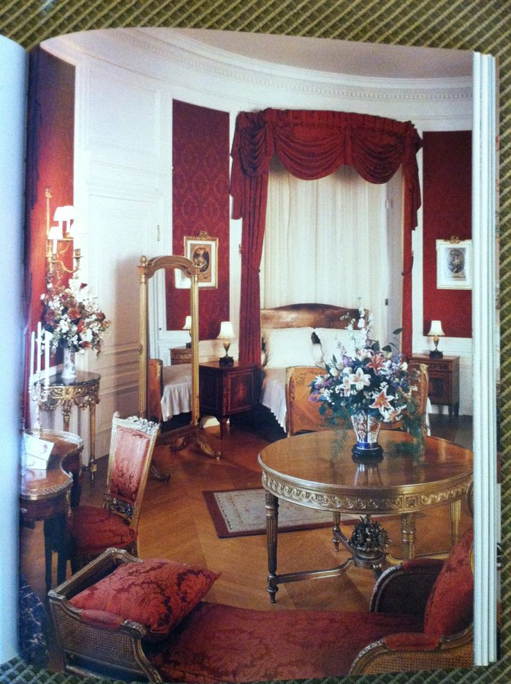 World Estate Bedroom Collection: Biltmore House- 2nd Floor- Louis XVI Room