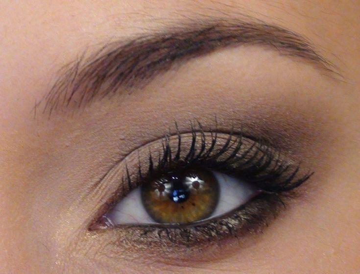Les 25 meilleures id es de la cat gorie maquillage des yeux marron sur pinterest - Maquillage soiree yeux marrons ...