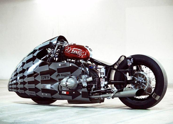 lucky cat garage designs nitrous injected sprintbeemer drag bike