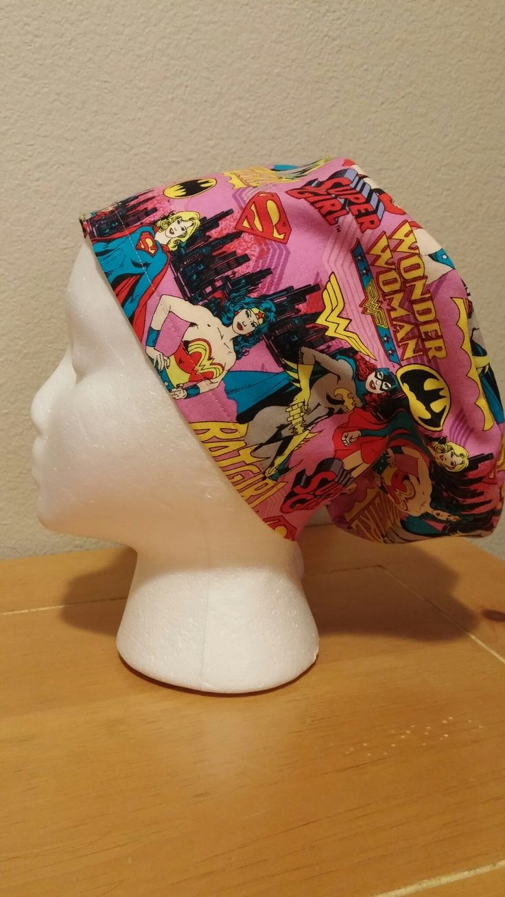 Super Women Hat- Super Girl-Bat Girl- Super Woman