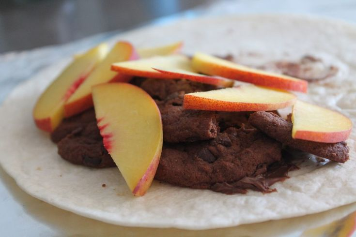 Sweet and salty Tortilla wraps