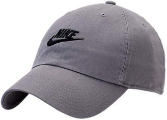 6bc0b6e170a Nike Sportswear H86 Washed Futura Adjustable Back Hat Women s Grey  hat   womens