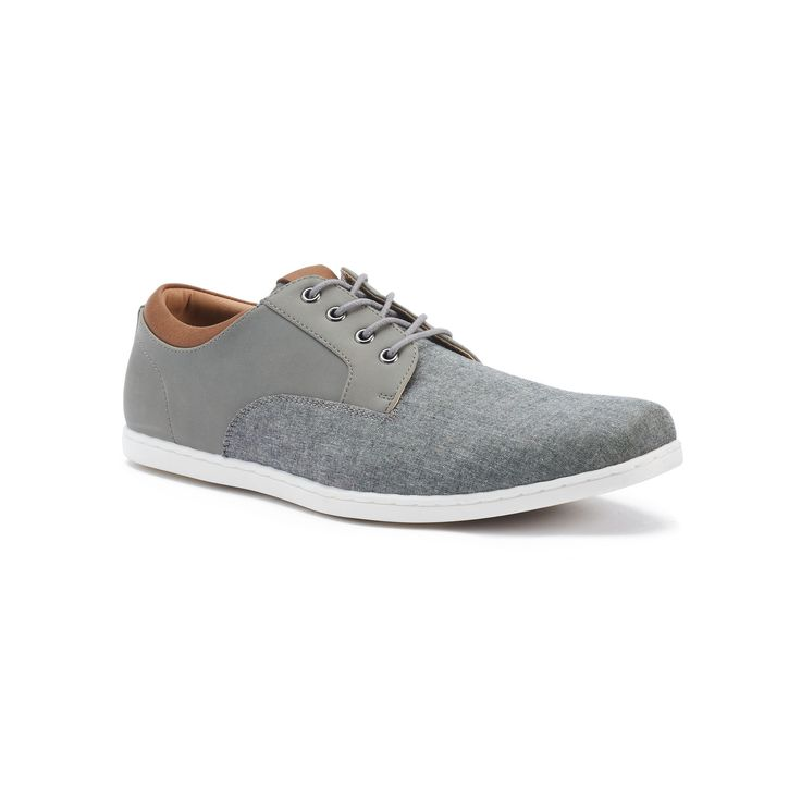 SONOMA Goods for Life™ Truman Men's Oxford Shoes, Size: 10.5, Grey