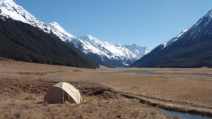 Where you can camp in New Zealand